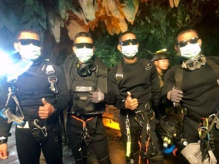 Make the most of your lives, rescued Thai cave boys told