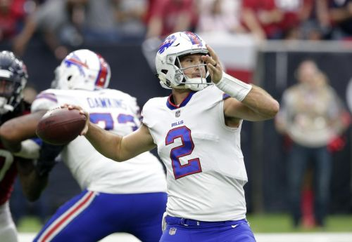 The Bills have ended their Nathan Peterman experiment