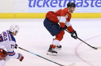 Panthers close out homestand with 5-4 shootout loss to Rangers