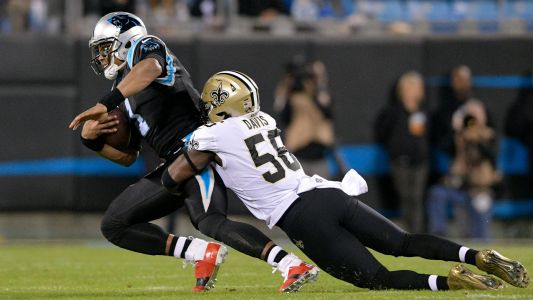 Cam Newton left frustrated by shoulder injury as Panthers lose again