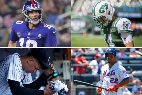 New York sports just hit a rare, miserable low