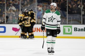 Stars fall 4-3 to Bruins in Boston