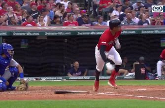 WATCH: Oscar Mercado goes 5-for-5 in Indians win