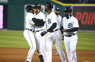 Tigers get walk-off win over Royals on Robbie Grossman's RBI single, 8-7
