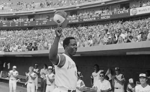 Hank Aaron was a total package of baseball greatness