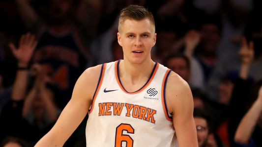 Kristaps Porzingis threatened to go play in Europe rather than re-sign with Knicks, Steve Mills says