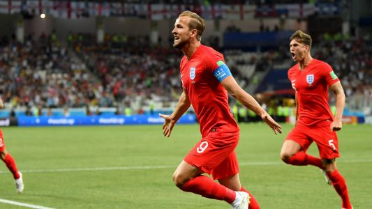Lucky 15 for Kane as England captain opens goal account at major finals