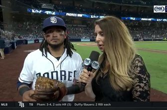 Freddy Galvis on the Padres' 8-4 win, his recent surge