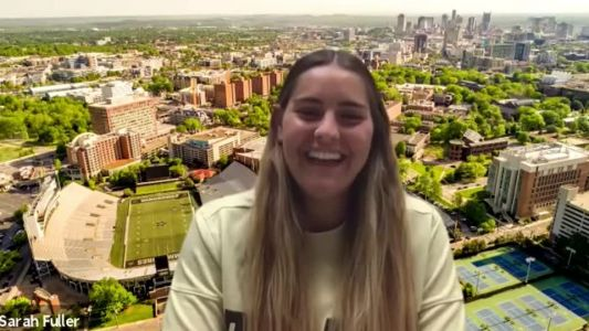Fuller hoping to stick with team after becoming first woman to play in Power 5 college football game