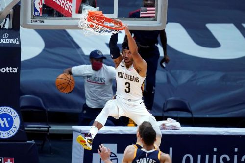 Williamson, Pelicans hold off NBA-leading Jazz 129-124