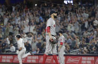 Price struggles again in Bronx; Voit, Yanks top Red Sox 10-1