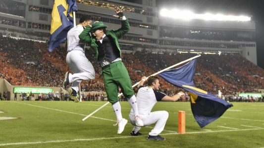 Notre Dame selects first female to be leprechaun mascot
