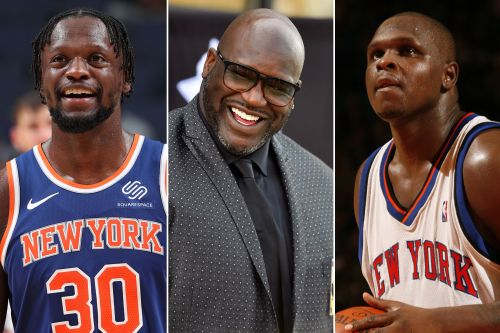Shaq confuses Julius Randle for Zach Randolph in hilarious 'Inside the NBA' moment