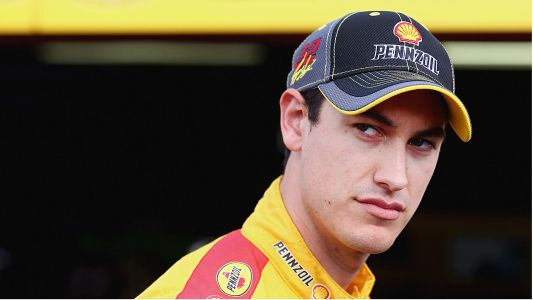 NASCAR Cup Series champion Joey Logano thinks someone stole his dog