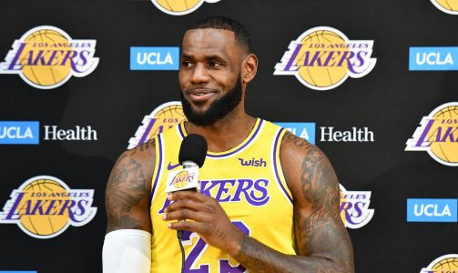 LeBron James: First day of training camp like first day of school