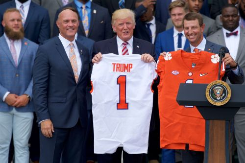 Live stream: Clemson Tigers visit President Trump at White House to celebrate national championship