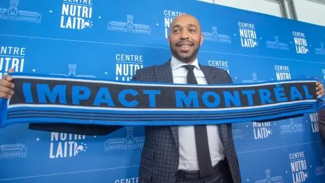 Thierry Henry hopes to learn from past mistakes in new role as coach of Impact