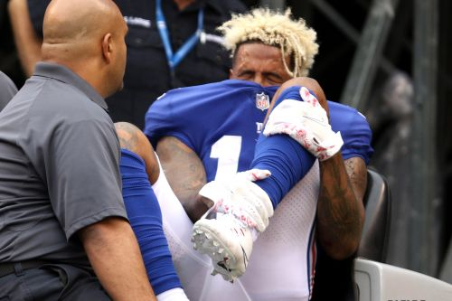Odell Beckham nearly retired after gruesome Giants injury