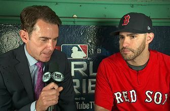 JD Martinez explains why history is on the side of the Red Sox in Game 1