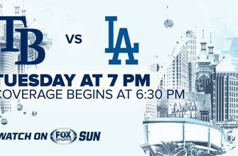 Preview: Rays return home for quick series vs. Dodgers