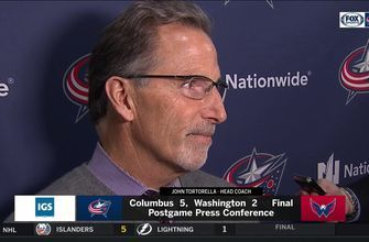 John Tortorella talks about what lead the Blue Jackets to a win over the Capitals