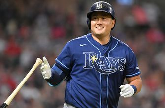 Rays bats catch fire in 8-2 win over Indians