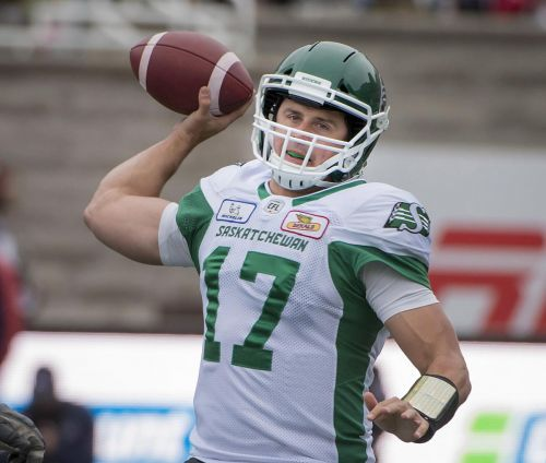 Roughriders' Collaros coy about status in CFL West semifinal