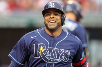 Nelson Cruz goes yard in team debut as Rays double up Indians, 10-5