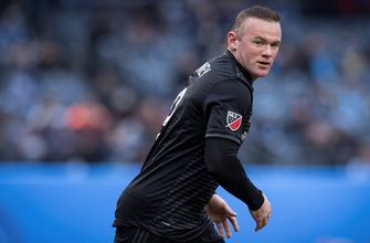 Wayne Rooney blasts early goal of the year candidate from beyond mid-field