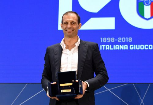 Juventus' Allegri wins Serie A coach of the year award
