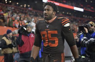 Myles Garrett, helmet a 'weapon,' banned for rest of season