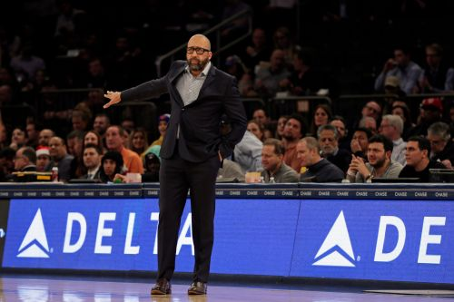 New York Knicks coach David Fizdale, frustrated after another blowout loss, calls effort 'sickening'