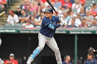 Ji-Man Choi's solo home run gives Rays 1-0 lead over Indians