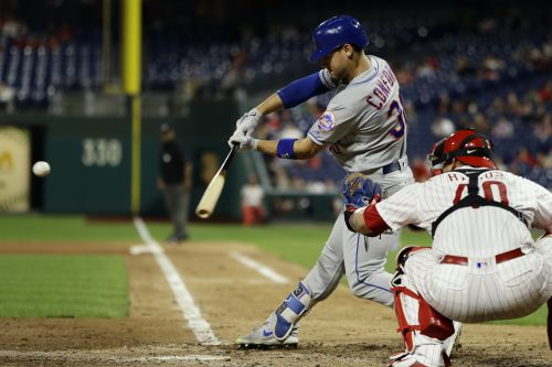 Michael Conforto went absolutely nuts on the Phillies