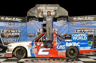 FINAL LAPS: Sheldon Creed holds off Ben Rhodes for the victory at Darlington