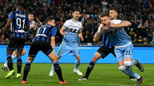 Lazio leave it late in Coppa Italia final win against Atalanta