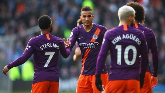 Danilo an 8/10 in providing Man City's breakthrough in win at Huddersfield