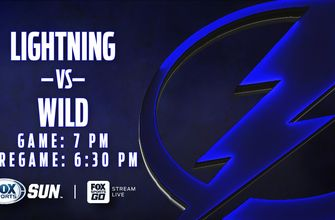 Preview: Lightning look to make it 2 straight wins with Wild in town