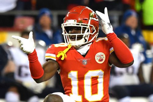 It sounds like Tyreek Hill is going to cash in huge now