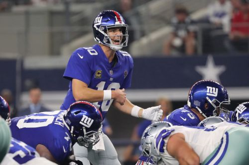 Eli Manning won't put this all at the feet of his offensive line