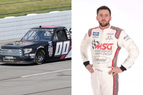 Josh Reaume suspended by NASCAR for mysterious 'evening snack' social media post
