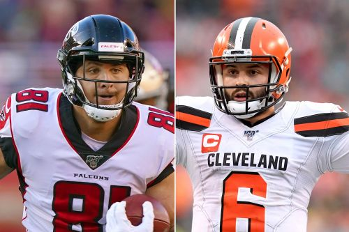 Why Browns star Austin Hooper moved in with Baker Mayfield