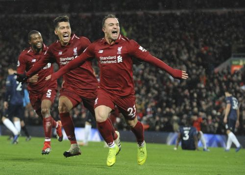 Manchester United struggles in loss to Liverpool