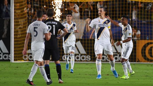 Ibrahimovic lifts Galaxy to key win over Impact