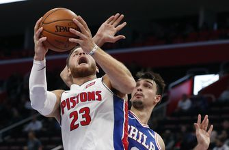 Griffin has career-best 50 points in Pistons' win over 76ers