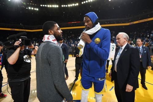 Report: Kevin Durant and Kyrie Irving 'Met Twice' to Discuss Free Agency