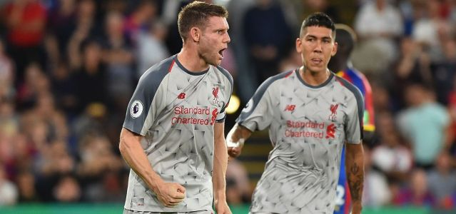 Liverpool leaves Selhurst Park with 3 points