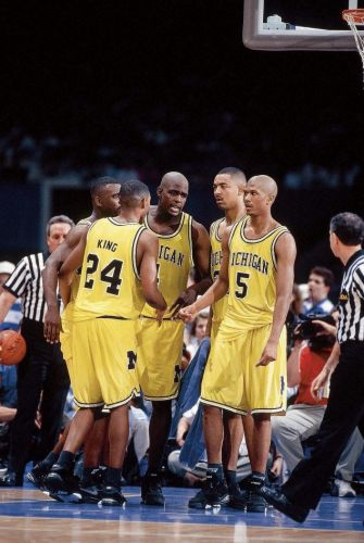 """The '91-92 Michigan """"Fab Five"""" Shorts by 19nine are AVAILABLE NOW!"""