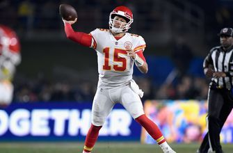 Patrick Mahomes is only 4th on Colin Cowherd's list of MVP candidates