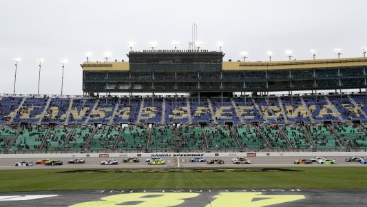 NASCAR lineup at Kansas: Starting order, pole for Sunday's playoff race without qualifying